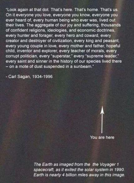 earth, carl sagan