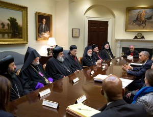 obama with in defense of christians group